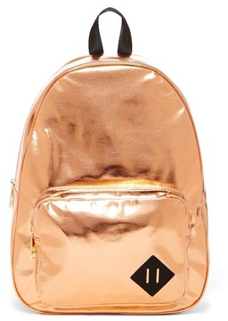 Madden Girl Gotbit Metallic Backpack