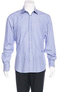 Just Cavalli Striped Woven Shirt