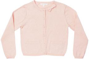 Marie Chantal Girls Summer Bow Cotton Cardigan - Pink