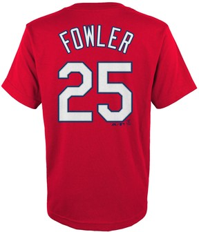 Majestic Boys 4-18 St. Louis Cardinals Dexter Fowler Player Name and Number Tee