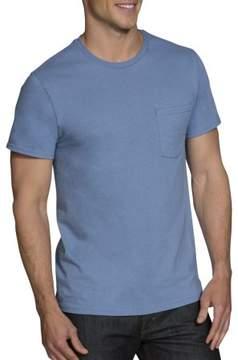 Fruit of the Loom Men's Assorted Color Pocket T Shirt, 4 Pack