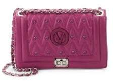Mario Valentino Alice Studded Leather Shoulder Bag