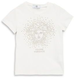 Versace Toddler's, Little Girl's & Big Girl's Embelished Graphic Tee