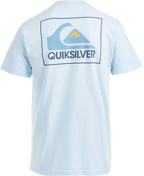 Quiksilver Men's The Box Logo-Print T-Shirt