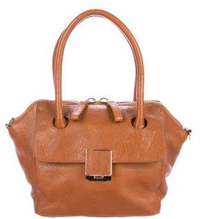 Tory Burch Leather Flap Satchel