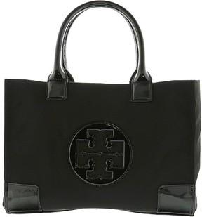 Tory Burch Women's Ella Mini Nylon Top-Handle Bag Tote - Black/Black - BLACK/BLACK - STYLE