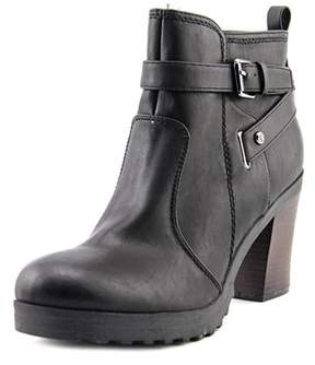 G by Guess Francy Women Round Toe Synthetic Black Ankle Boot.