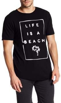 Kinetix Life Is A Beach Crew Neck Tee