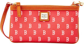 Dooney & Bourke Boston Red Sox Large Slim Wristlet - NAVY/RED - STYLE