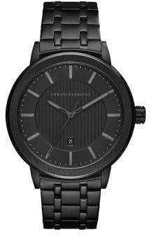 Armani Exchange Stainless Steel Polished Bracelet Watch