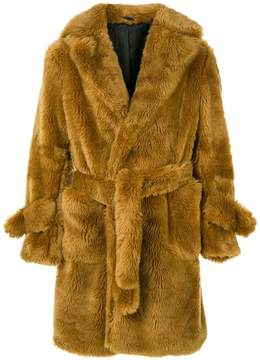 Band Of Outsiders belted coat