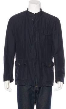 Dries Van Noten Linen-Blend Shirt Jacket