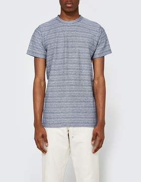Norse Projects Niels Multi Textured Stripe SS