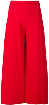D-Exterior D.Exterior cropped high-waist trousers