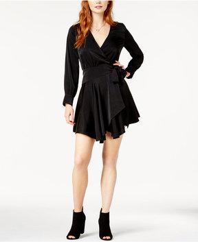 Bar III Asymmetrical Wrap Dress, Created for Macy's
