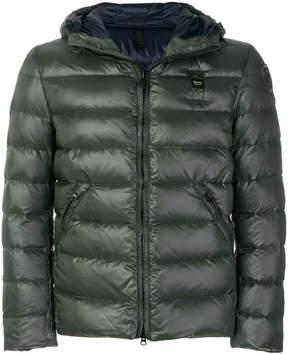 Blauer padded hooded jacket