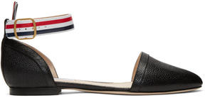 Thom Browne Black DOrsay Ballerina Flats