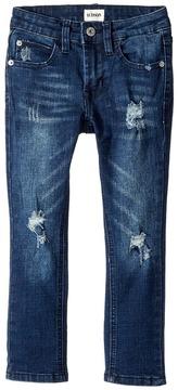 Hudson Jude OG Skinny Five-Pocket Jeans in Storm Boy's Jeans