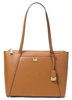 MICHAEL Michael Kors Maddie Classic Leather Tote