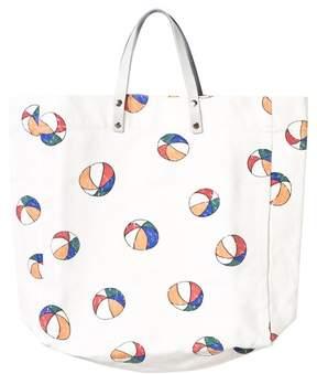 Bobo Choses Off-White Ball Print Tote Bag