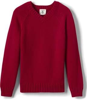 Lands' End Lands'end School Uniform Little Boys Drifter V-neck Pullover