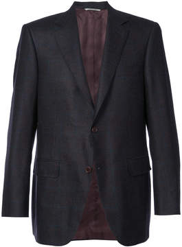 Canali tailored slim fit jacket