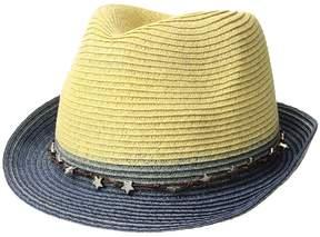 San Diego Hat Company UBF1099 Ultrabraid Fedora w/ Star Trim Fedora Hats