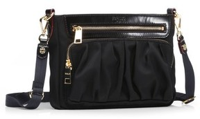 MZ Wallace 'Abbey' Bedford Nylon Crossbody Bag - Black