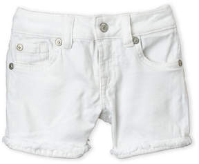 7 For All Mankind Girls 4-6X) Frayed Roll Cuff Shorts