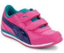 Puma Girl's Speed Light-Up Sneakers