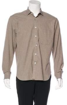 Billy Reid Check Woven Shirt
