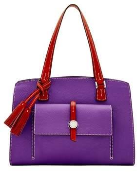 Dooney & Bourke Cambridge Shoulder Bag. - VIOLET - STYLE