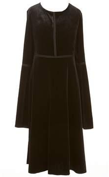Jessica Simpson Big Girls 7-16 Dottie Velvet Shift Dress