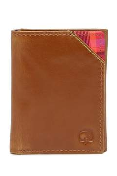 Robert Graham Derby Leather Trifold Wallet