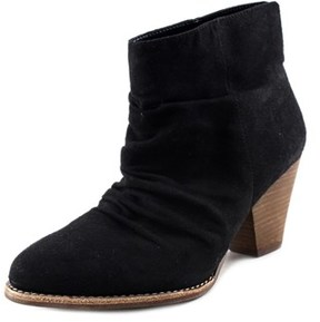 Diba Rung Round Toe Canvas Ankle Boot.