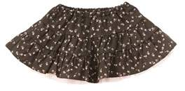 Chicco Girls' Brown Floral Skirt.