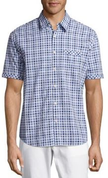 James Campbell Checked Cotton Shirt