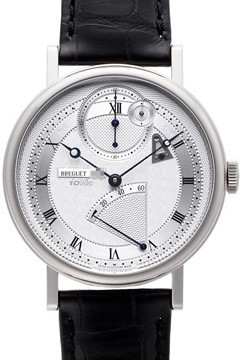 Breguet Classique Silver Dial Automatic 18 Carat White Gold Men's Watch