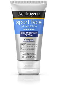 Neutrogena® Ultimate Sport Face Oil-Free Sunscreen Lotion - SPF 70+ - 2.5 fl oz