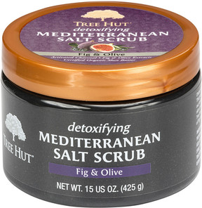 Tree Hut Detoxifying Mediterranean Salt Scrub Fig & Olive
