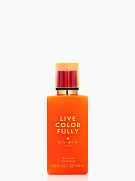 Live colorfully shower cream