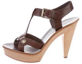 Christian Dior Initiales Platform Sandals