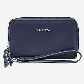 Call for Backup Double Zip Wristlet