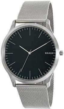 Skagen Jorn Grey Dial Men's Mesh Watch SKW6334