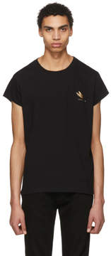 Givenchy Black Cat Rock T-Shirt