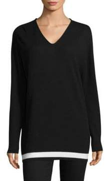 Escada Wool And Cashmere Pullover
