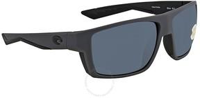 Costa del Mar Bloke Rectangular Sunglasses BLK 127 OGP
