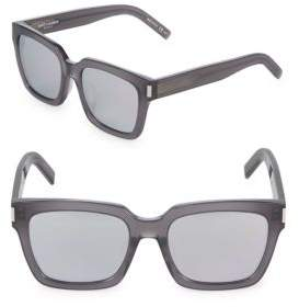 Saint Laurent 55MM Square Sunglasses