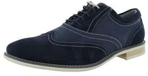 Steve Madden Mens Samson2 Suede Wingtip Oxford Shoe