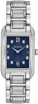 Bulova Women's Diamond Stainless Steel Watch - 96R211
